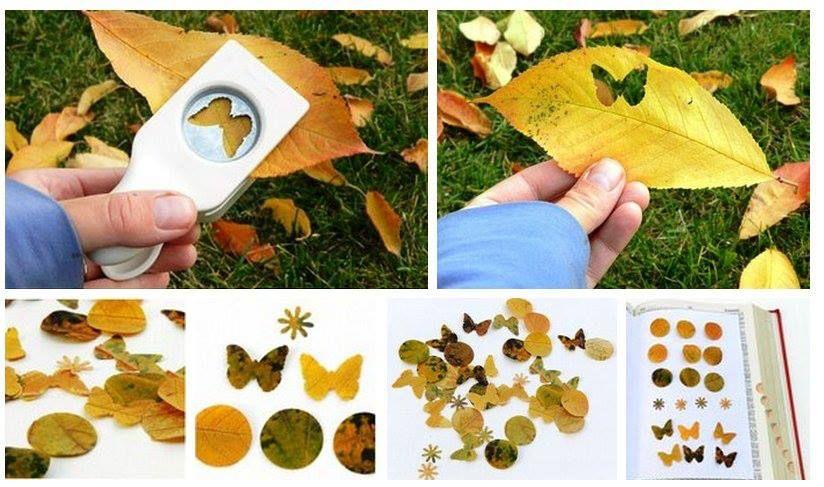 Gestanzte Blätter