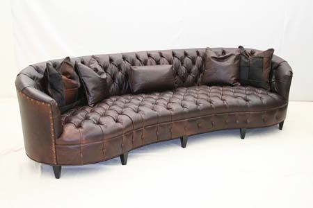 Best Curved Tufted Leather Sofa Leather Curved Sofa Tufted 400 x 300