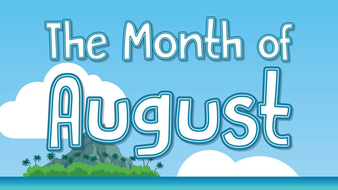 The Month Of August Jack Hartmann Calendar Song In 2020 Calendar Songs August Month Jack Hartmann