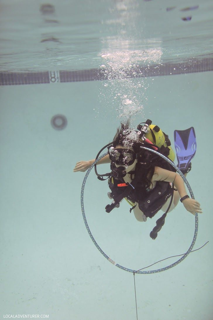 Intro to Scuba Diving with Oceanside Scuba and Swim Center