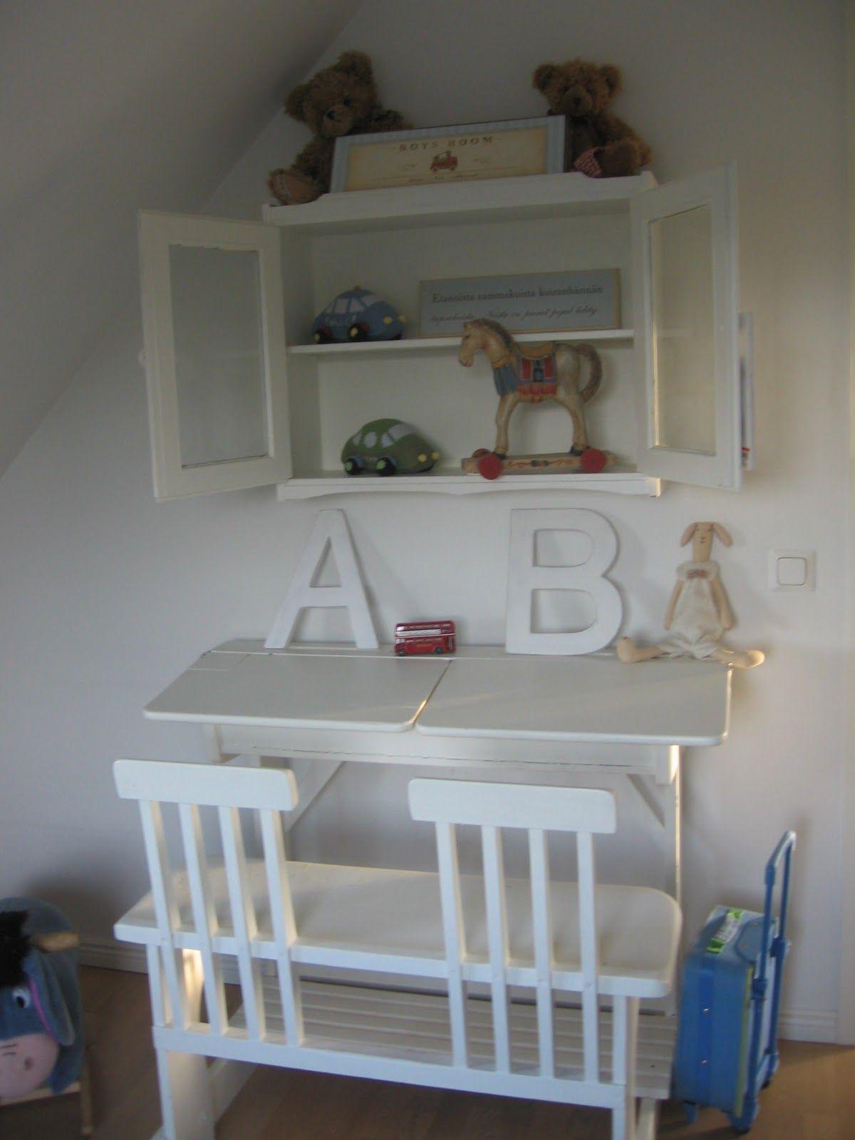 Cabinet Above Desk Домики Детские