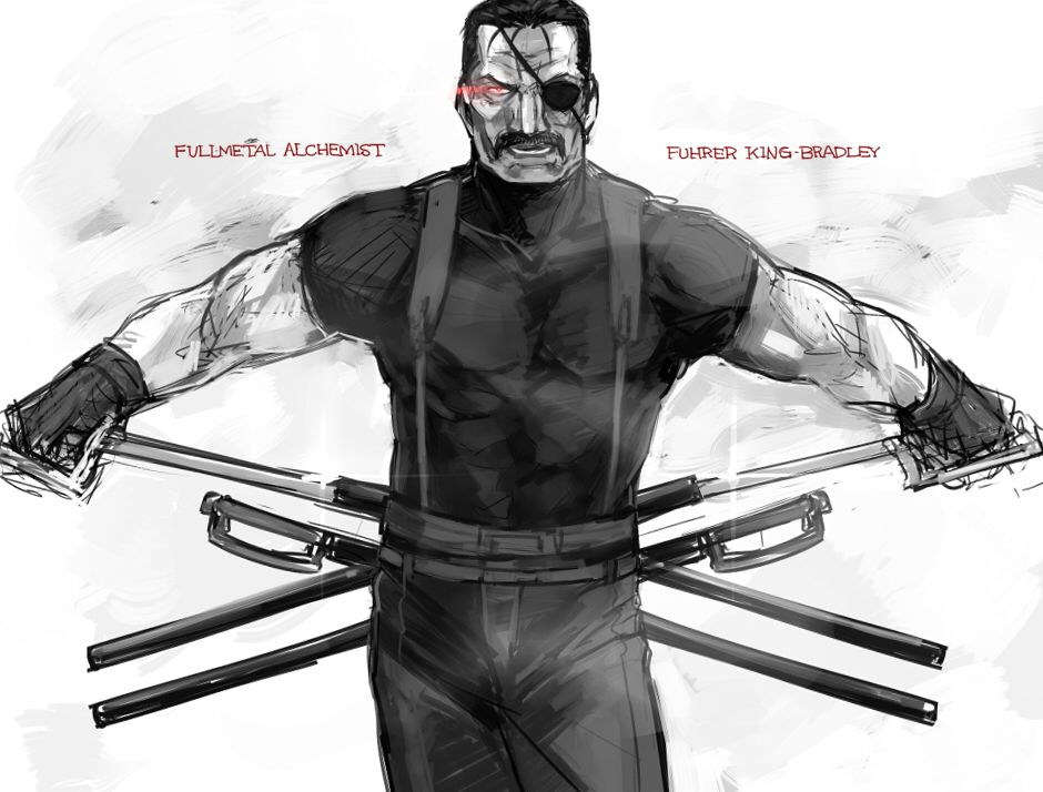 fuhrer king bradley wrath | My Fullmetal Alchemist ...