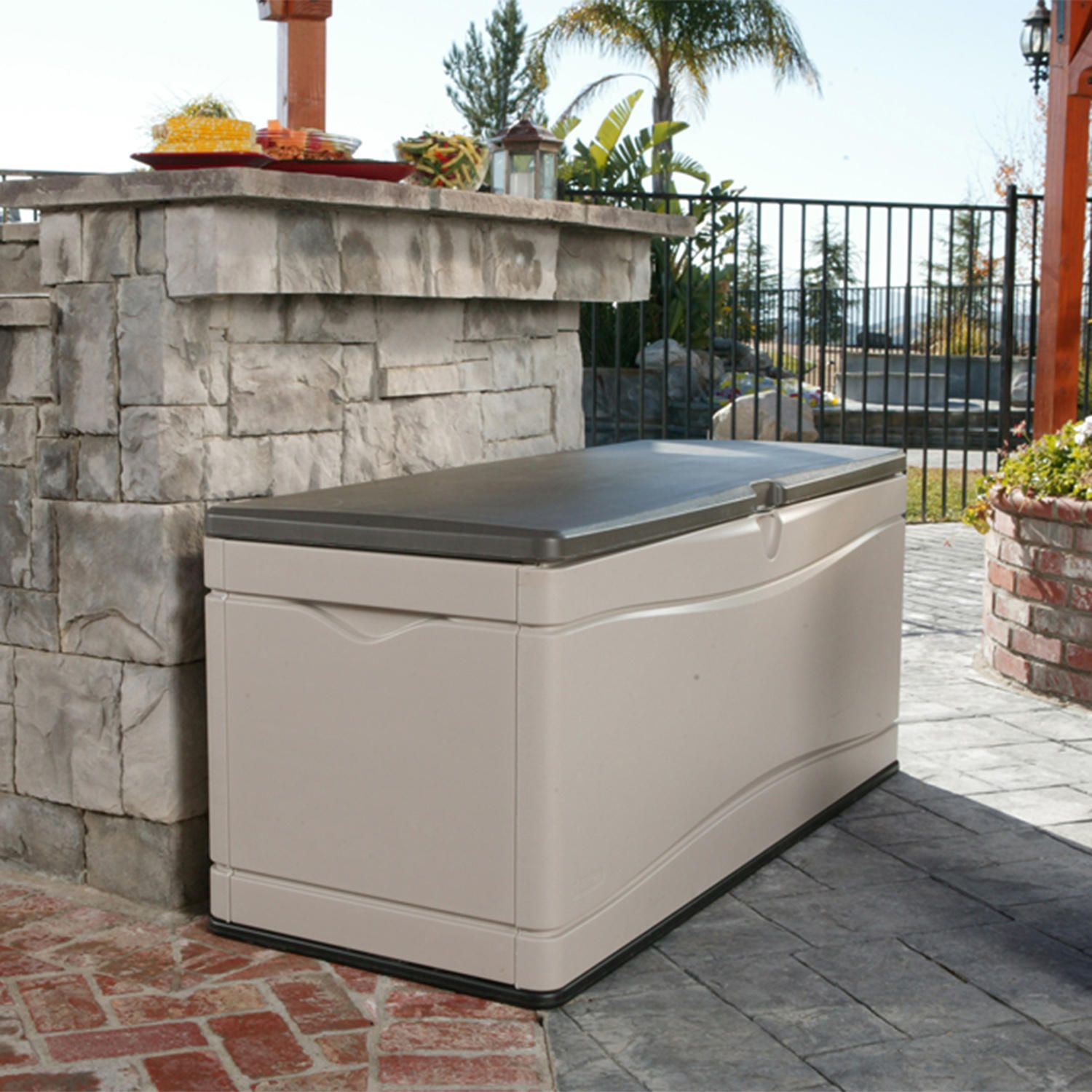 keter 60 gallon all weather outdoor