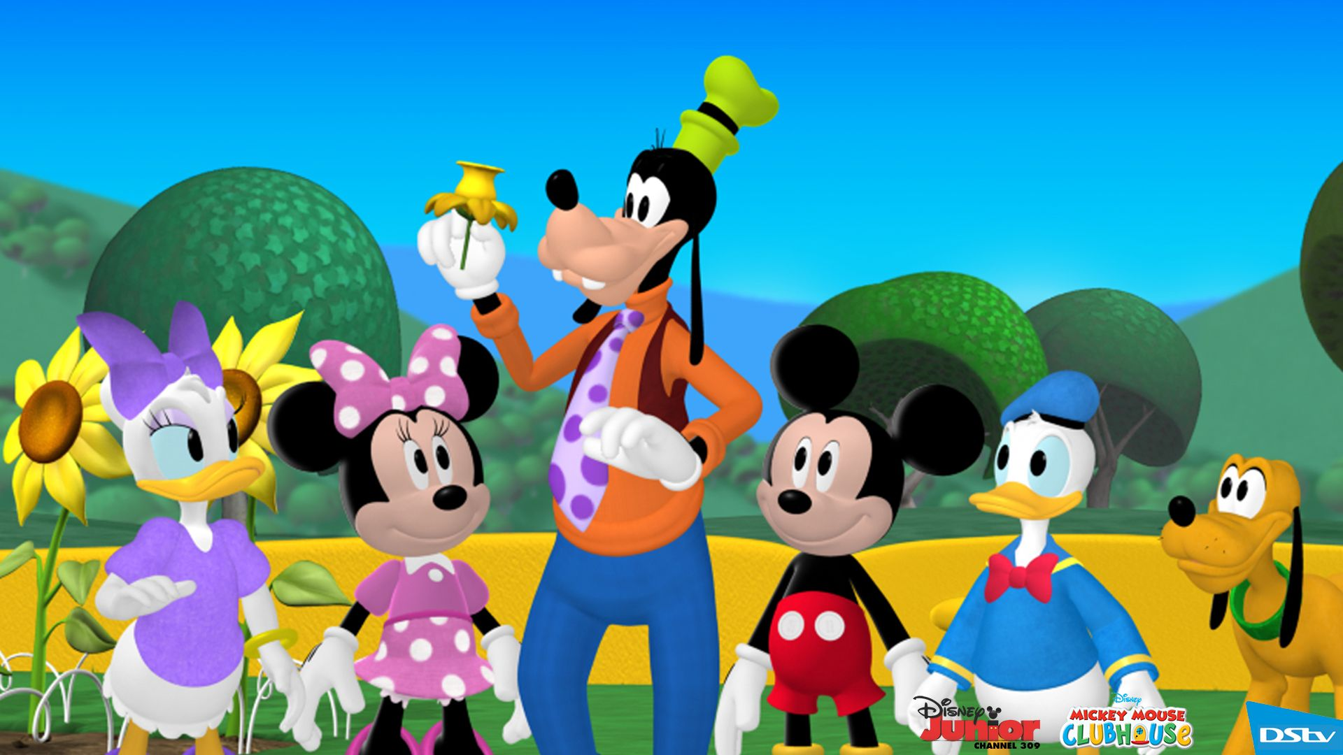 Mickey Mouse Clubhouse Desktop Wallpaper 3211 Frenzia Com