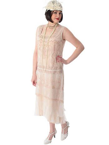 46f010eb8525  p Envision yourself in this romantic 1920 s style dropped waist tea dress