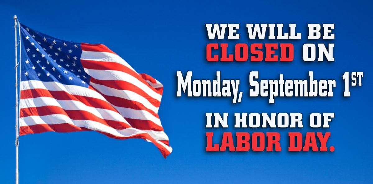 Geeky image pertaining to closed for labor day printable sign