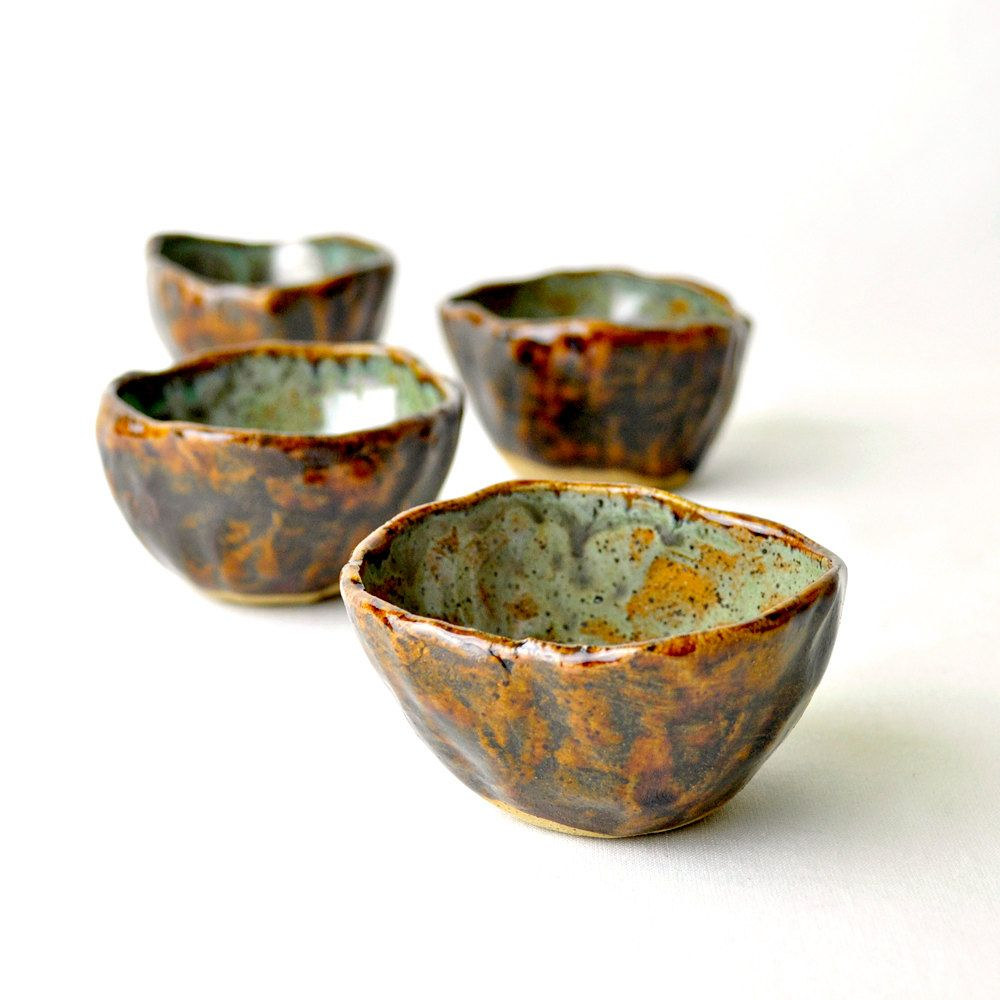 Planetary Motion Eclectic tea bowls.