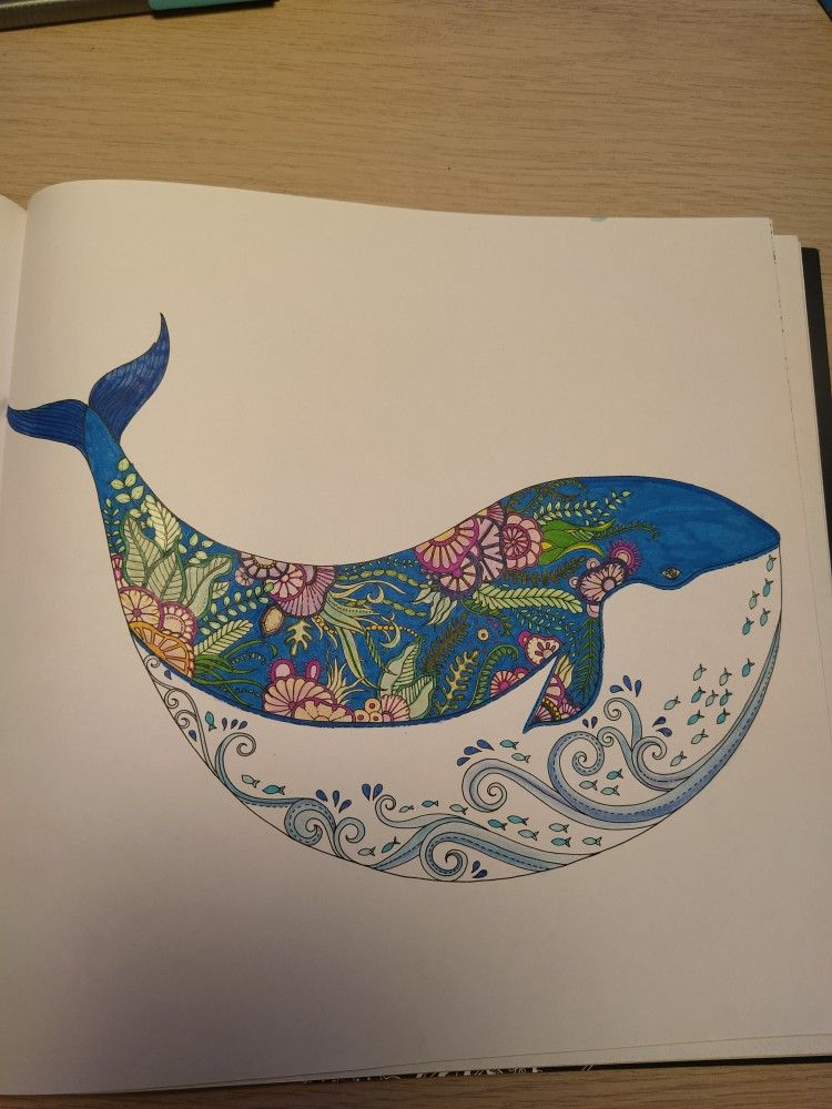Pin By Victoria Bridges On Coloring Johanna Basford Lost Ocean Lost Ocean Johanna Basford