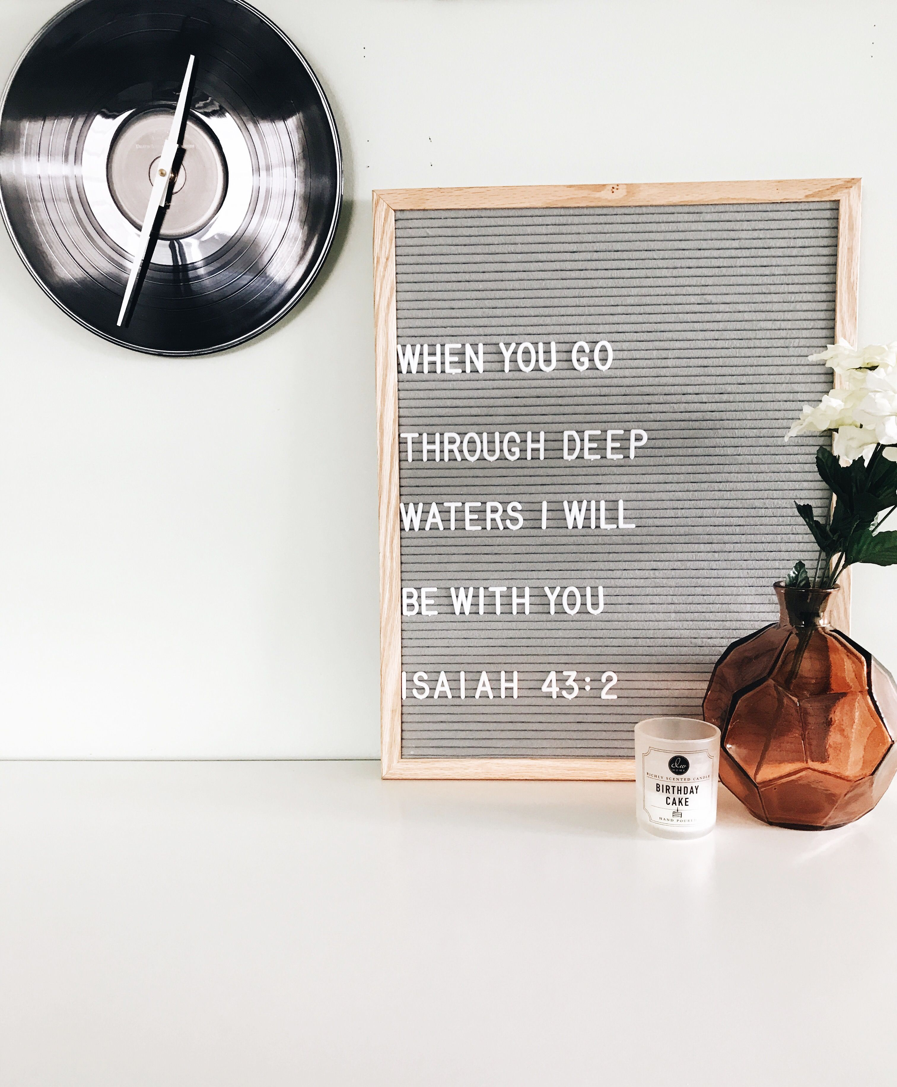 Bible Verse | Letterboard Quote | Letterpoet Letterboards | Camrose, AB | Home  Decor