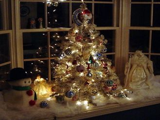 Christmas Tree Centerpiece Wedding : Wedding christmas tree decorations ideas dream home