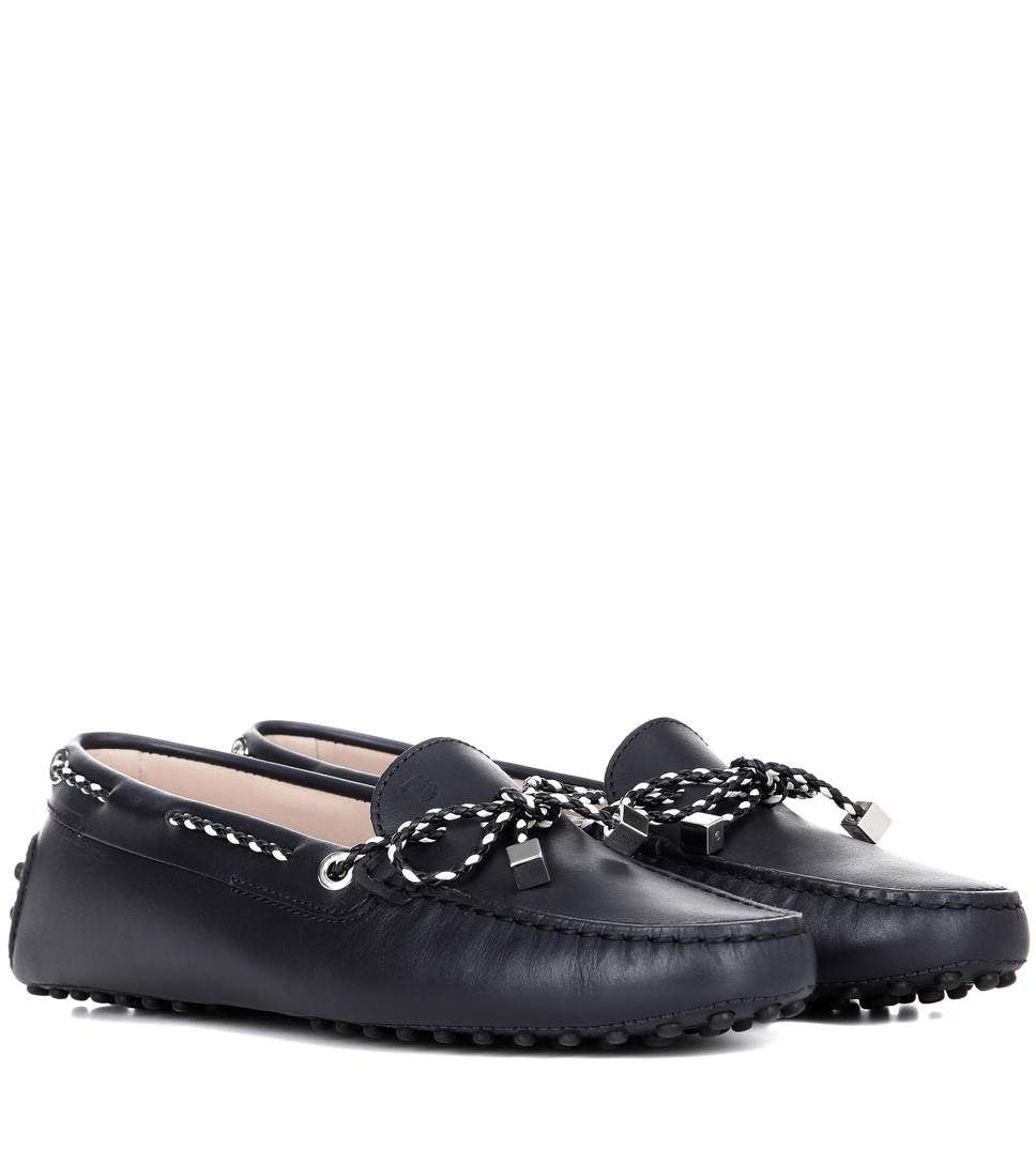 TOD'S Gommini Loafers. Leder Loafers. Gommini  tods  schuhe  flats   Tod's ... 2072b1