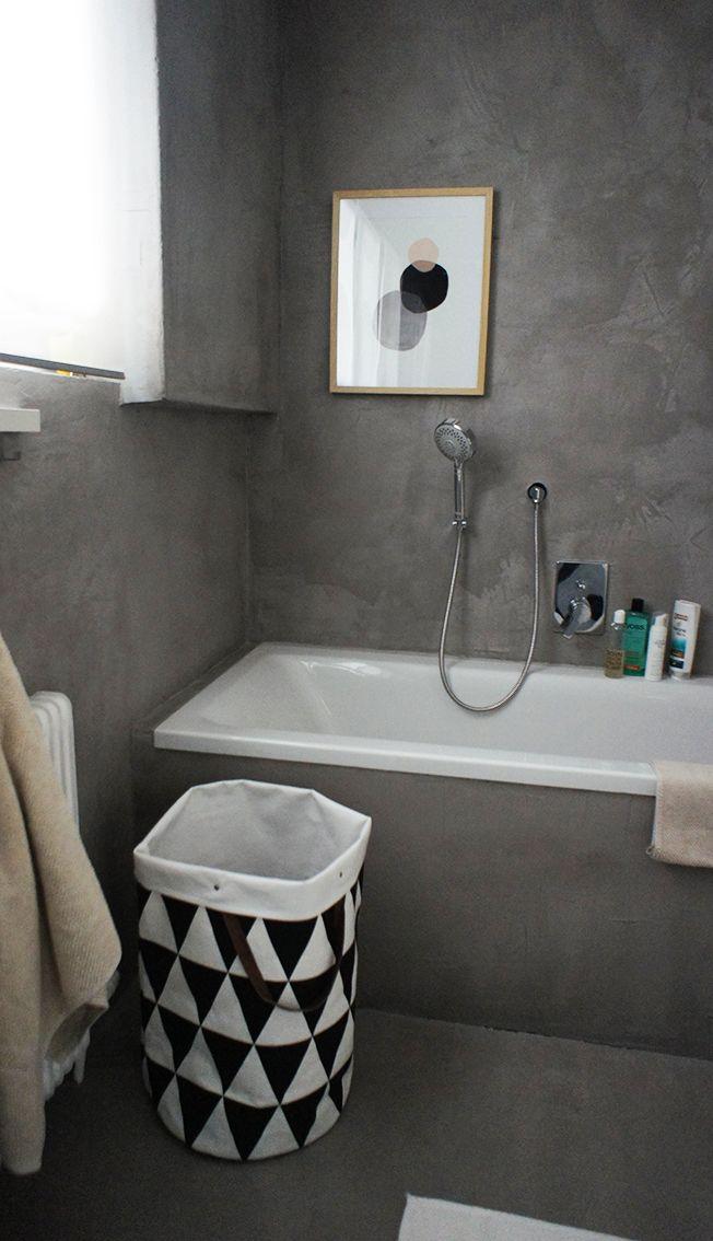 Badezimmer Mit Sichtbeton Beton Cire Beton Badezimmer Badezimmer Und Betonoptik