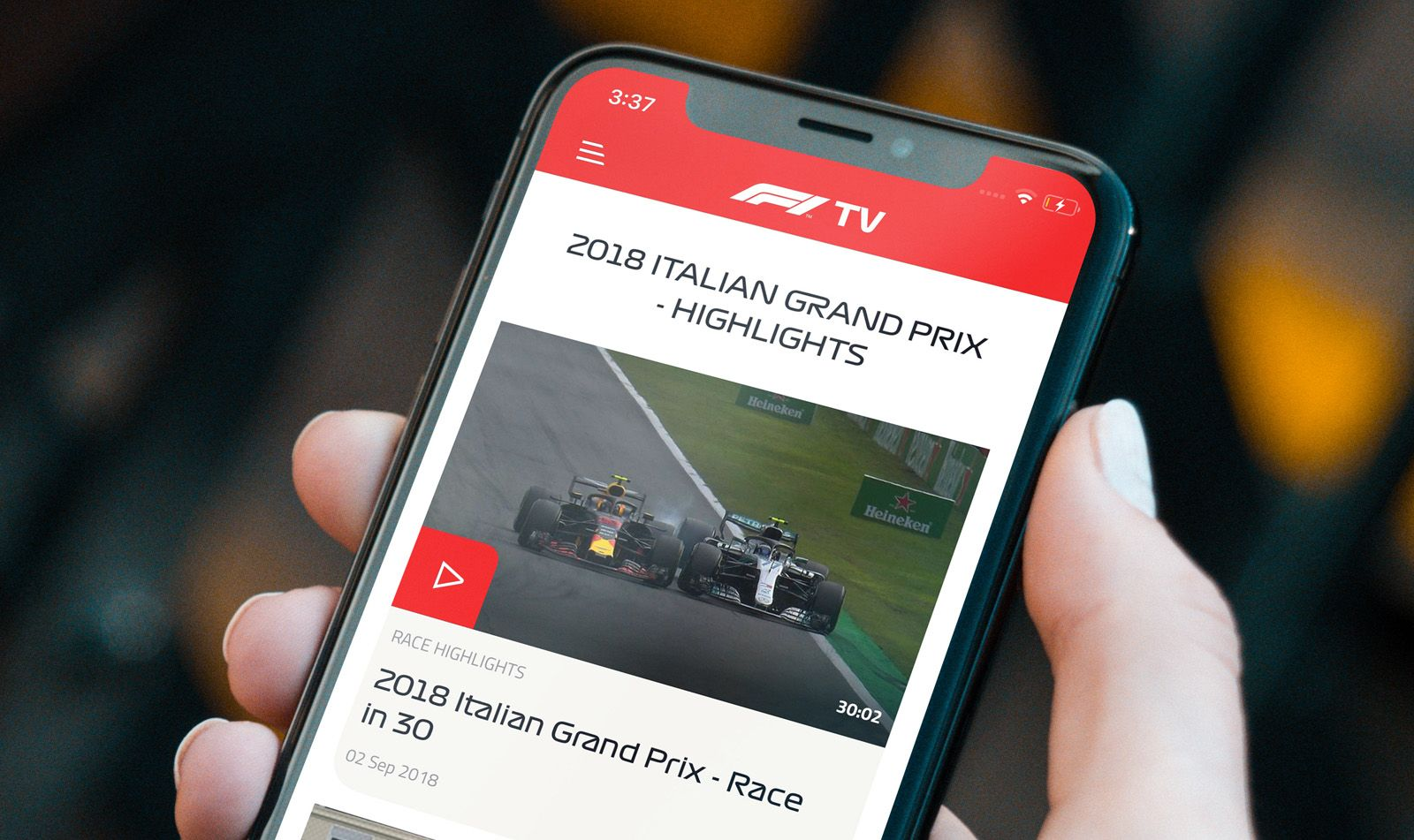 Are you a fan of fast and dangerous sports? Then #F1 #TV is