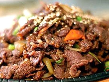 Bulgogi (Korean Beef BBQ ) is a Korean dish that usually ...