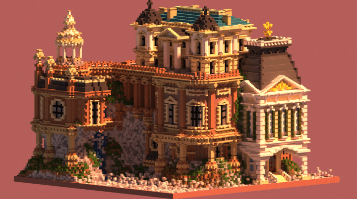 Whiterock Palace Minecraft Building Inc