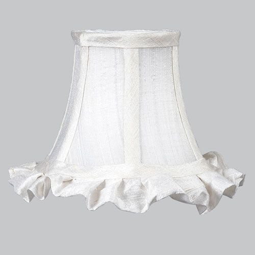 Jubilee collection white chandelier shade ruffled edge mini jubilee collection white chandelier shade ruffled edge aloadofball Images