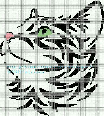 Poes 3   patroontjes   Pinterest   Muster, Bügelperlen und Handarbeiten