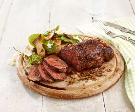 die besten 25 rindersteak rezept ideen auf pinterest rindersteak rindfleisch und steak fleisch. Black Bedroom Furniture Sets. Home Design Ideas