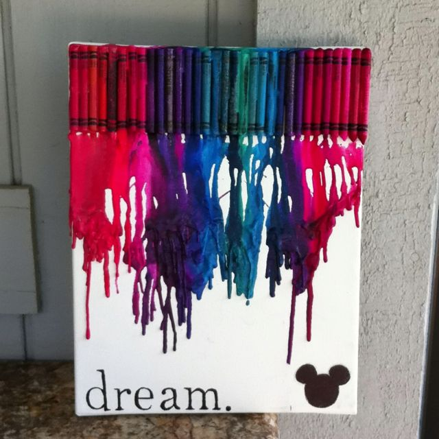 Melted Crayon Art So Fun