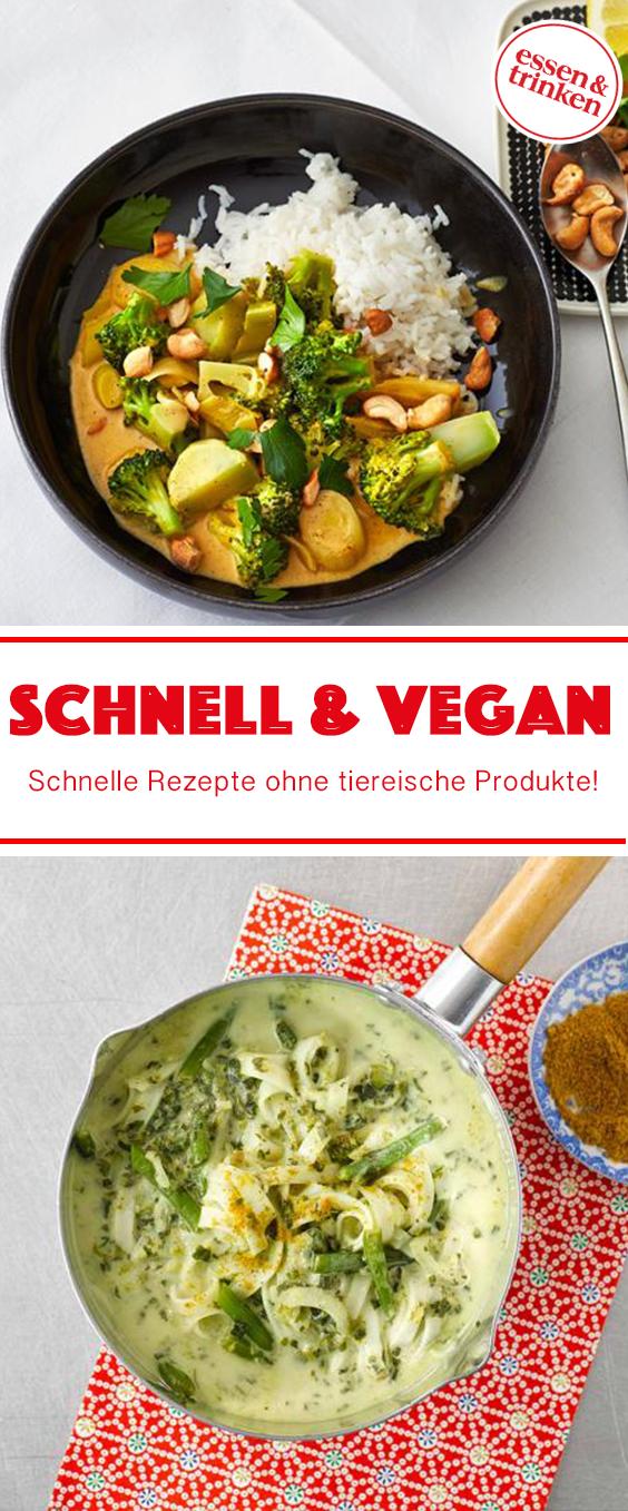 Schnelle Und Vegane Rezepte Mit Bildern Vegane Rezepte Gesunde Vegane Rezepte Vegane Rezepte Gesund