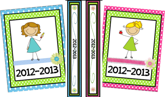 Printable binder covers, inserts, calendars....these are SO cute!!!   # Pin++ for Pinterest #
