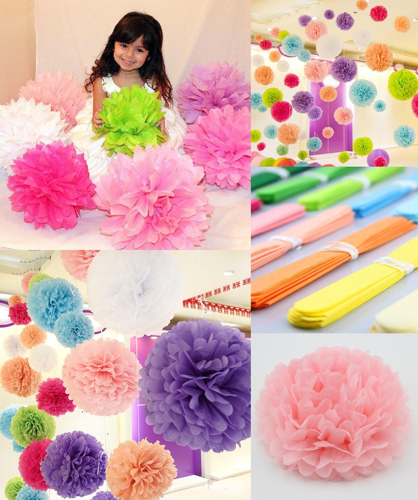 Visit To Buy 1pcs 6 14 Inch 1520253035cm Tissue Paper Pom