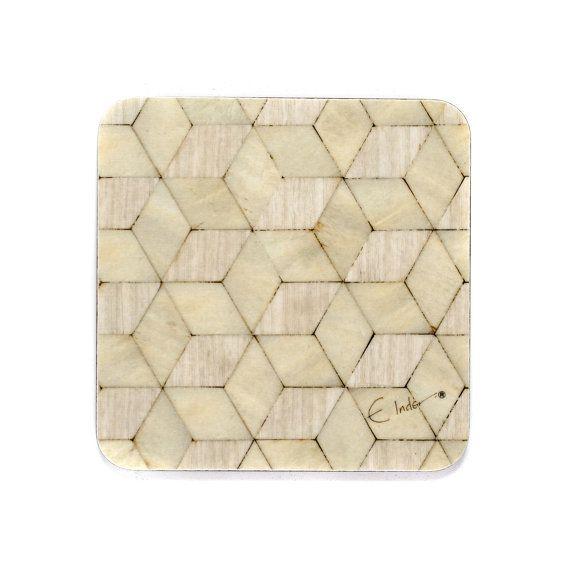 6 Coasters Set 4 Or 10 Cms Square Leo Range Melamine Etsy Geometric Pattern Coaster Art Coaster Set