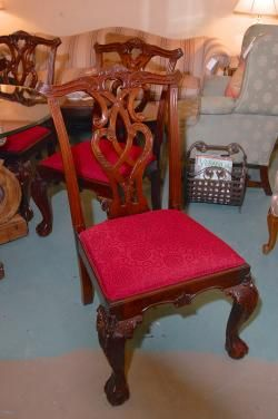 Set Of 8 Dining Room Chairs At Hunt U0026 Gather Raleigh. Http://