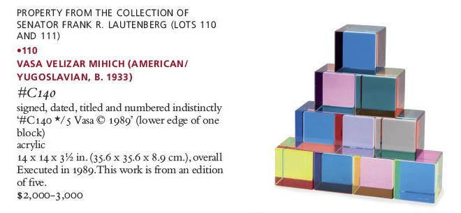 vasa velizar mihich colorful acrylic blocks