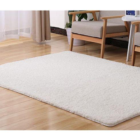 50*160cm Large Size Plush Shaggy Soft Carpet Area Rugs Slip