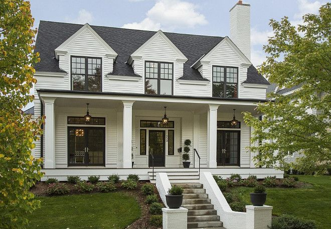 16 Rooms That Showcase Modern Farmhouse Decor Done Right Modern Farmhouse Exterior Cape Cod House Exterior House Exterior