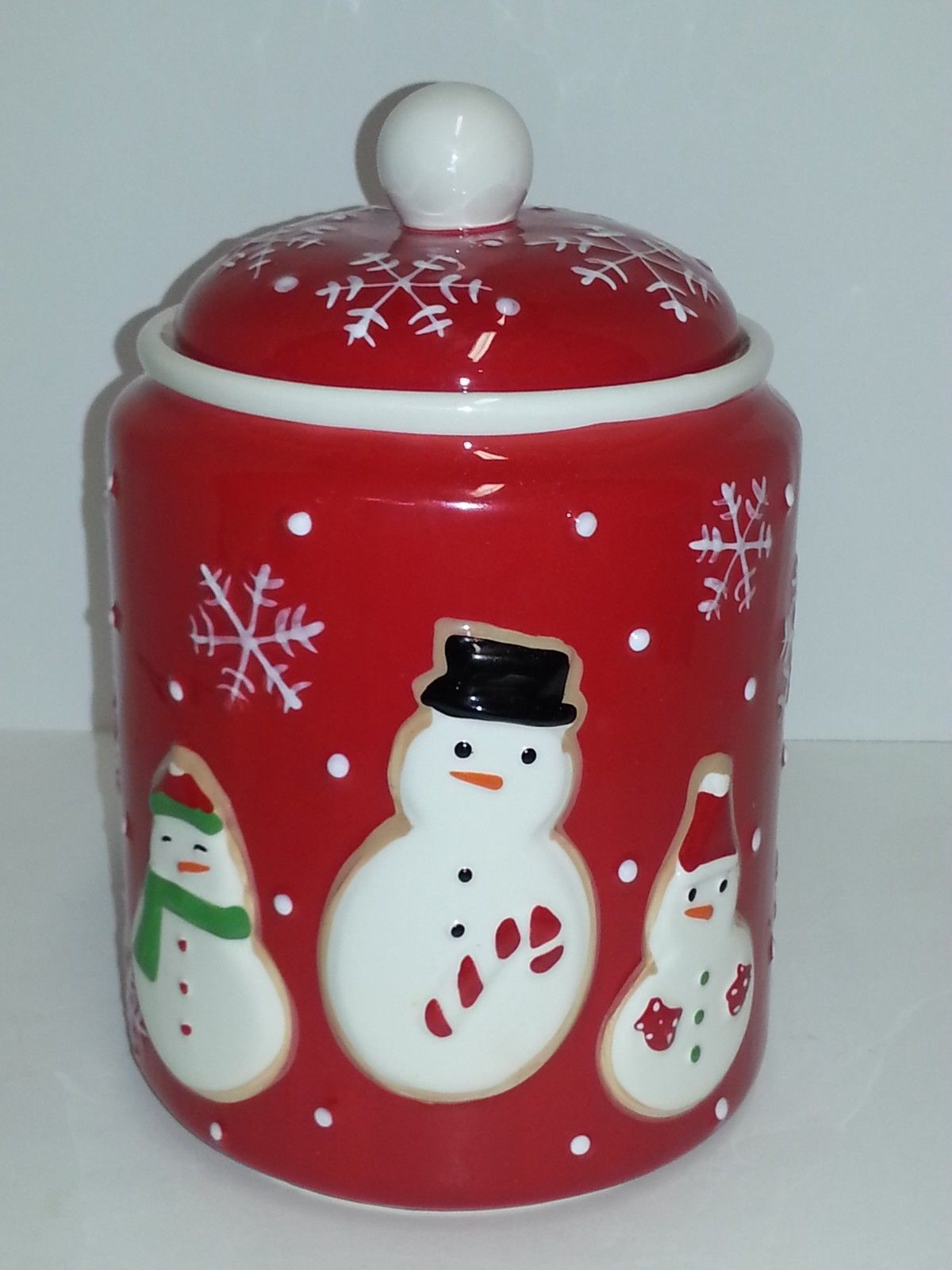 Modern Cookie Jar Snowman Cookie Jar All Things Christmas Modern