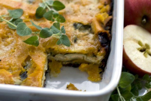 Thanksgiving Recipe: Apple-Squash Lasagna