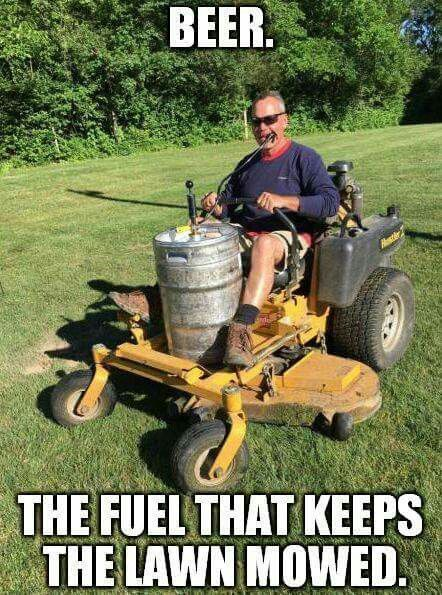 Beer And Lawn Humor The Laughter Section Pinterest