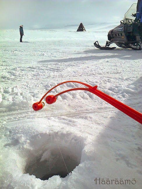 Ice-fishing in Finnmark, Norway www.haaraamo.fi