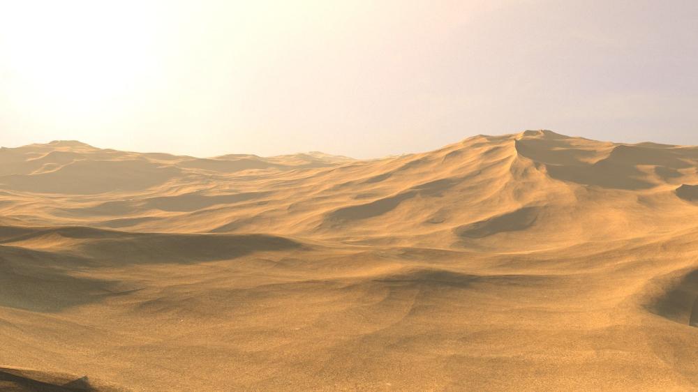 Desert Sand Dunes Landscape Sanddunes 3d Model Cgtrader Deserts Of The World Landscape 3d Model