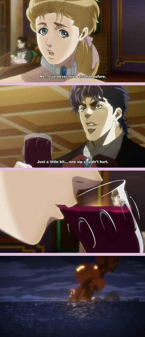 42 Ridiculous Out Of Context Panels From Anime And Manga Jojo Bizzare Adventure Adventure Meme Jojo Bizarre