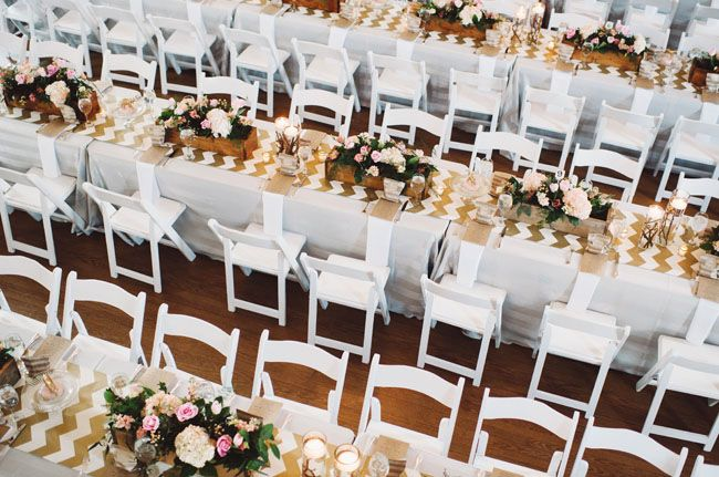 Handcrafted Maryland Wedding: Kelsey + Kagan | Chevron Table Runners, Chevron  Table And Wedding
