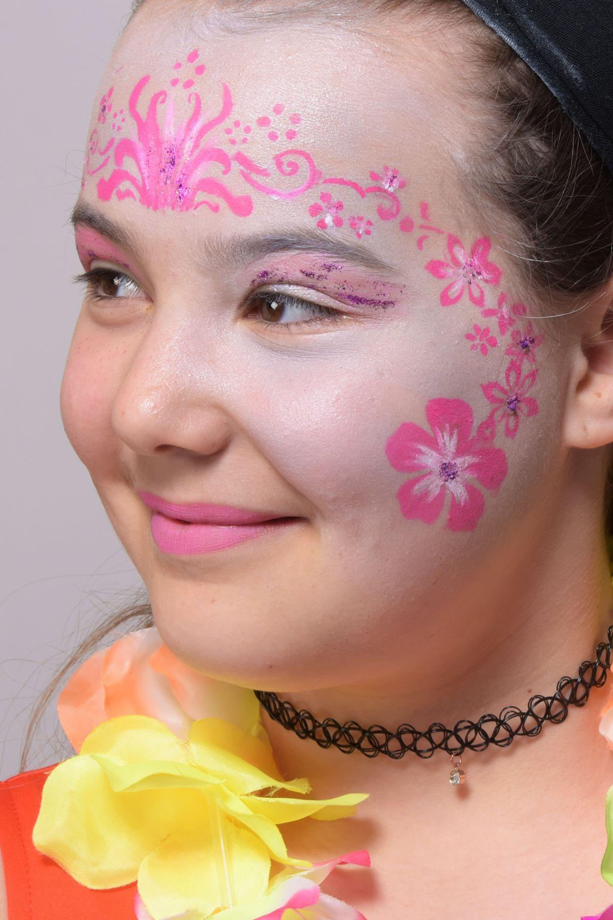 Maquillage Vaiana  tuto illustré surprenant !