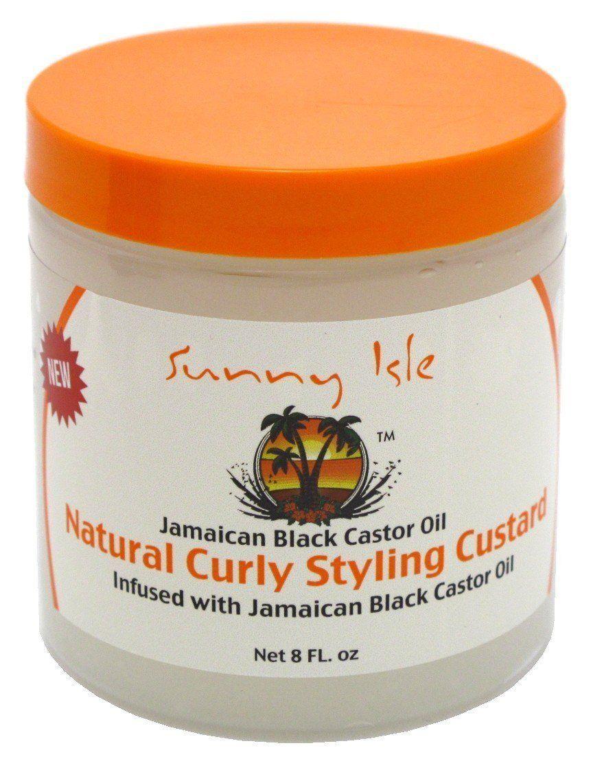 Sunny Isle Jamaican Black Castor Oil Natural Curly Styling Custard