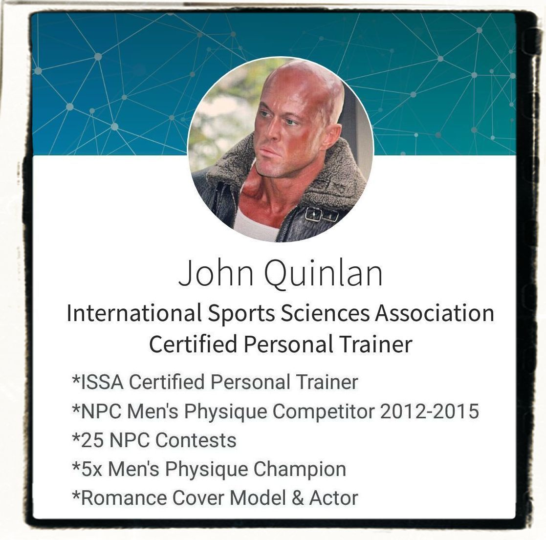 John quinlan issa official certified personal trainer john quinlan issa official certified personal trainer johnquinlan model actor john joseph quinlan pinterest certified personal trainer and 1betcityfo Images