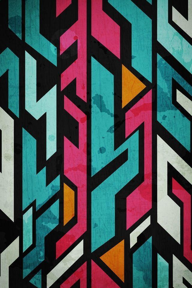 Graffiti style wallpaper iPhone wallpapers Pinterest