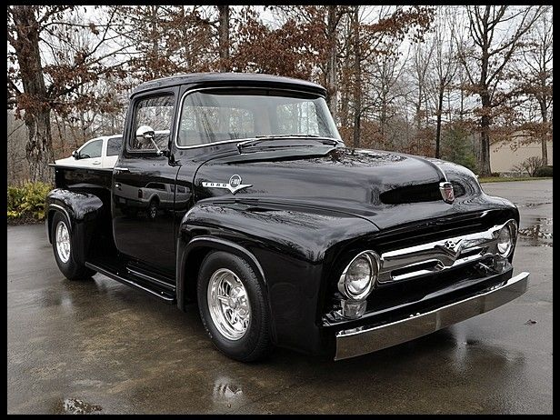 1956 Ford F100 460/550 HP, Custom Chassis #MecumINDY ...1956 Ford F100 Lifted