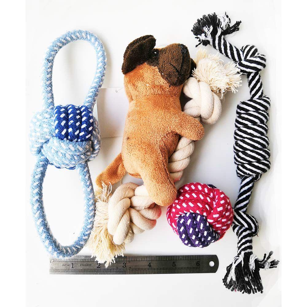 Buibiiu small dog toys puppy teething toys dog chew toys