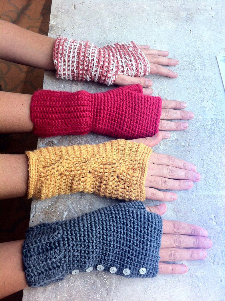 Puntos de vista   Crochet projects   Pinterest   Guantes, Las manos ...