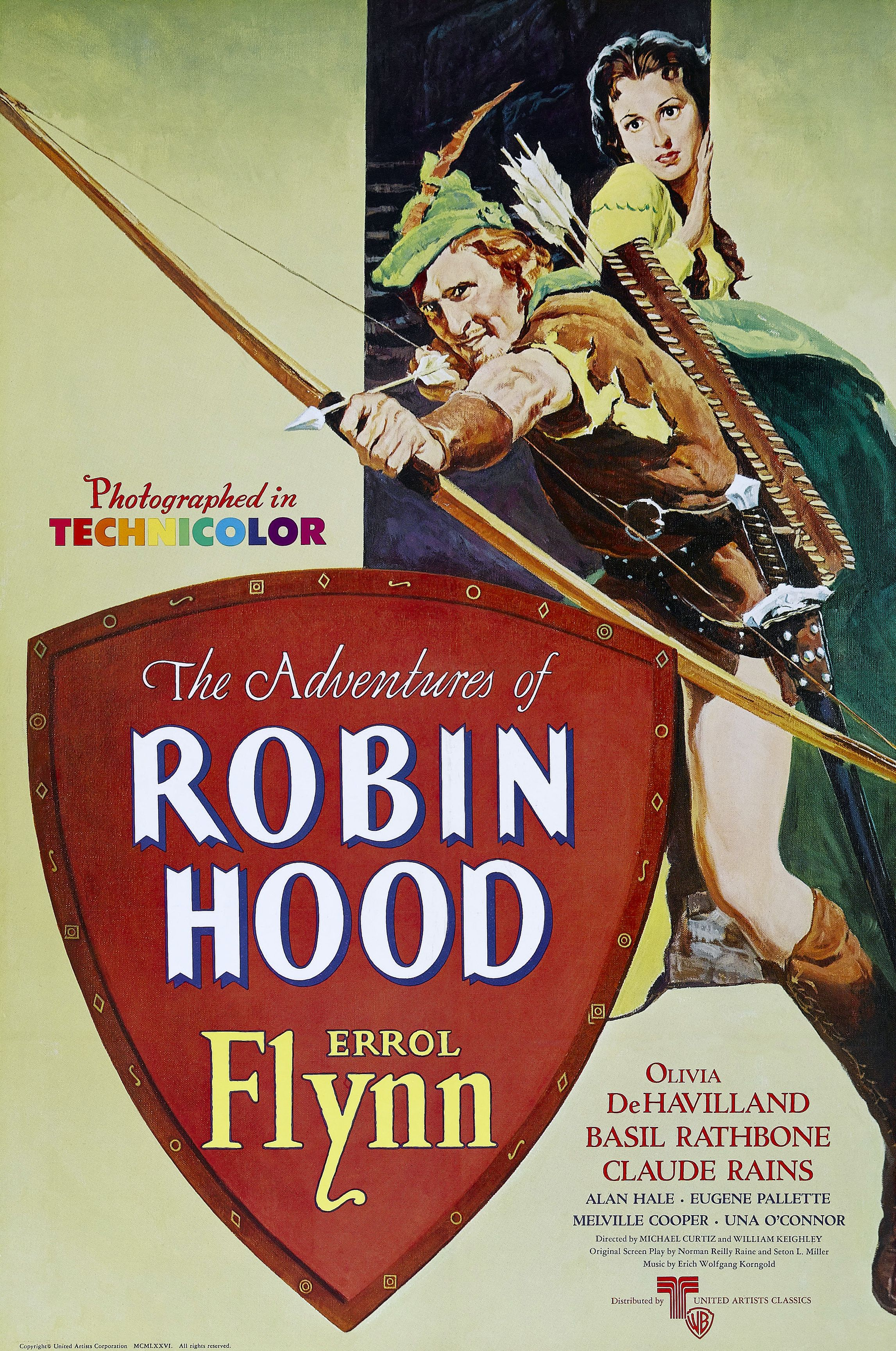 The Adventures Of Robin Hood 1938 Robin Des Bois Film Mythique Affiche Film