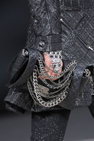Chanel at Paris Fall 2013 (Details)