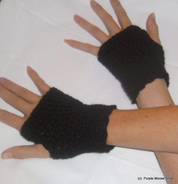 Save3 PAIRSLong Arm Warmers/Fingerless by PurpleMooseShop on Etsy, $25.00