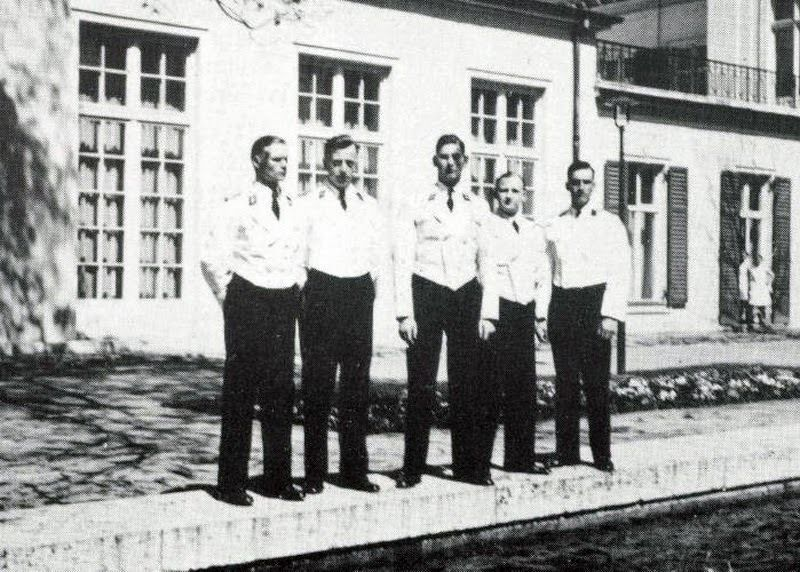 Hitler S Personal Staff Waiters In Their Ss Waiters Dress Jackets