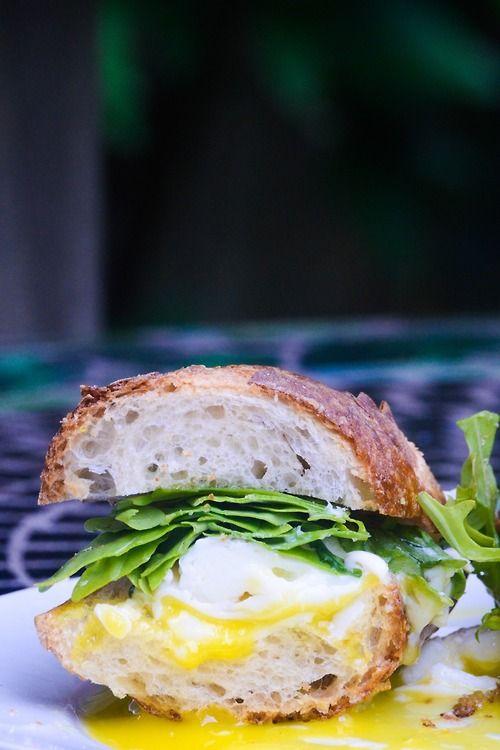 abseas:  thymeandtime:  The egg sandy you wish you were eating  Yoooooo